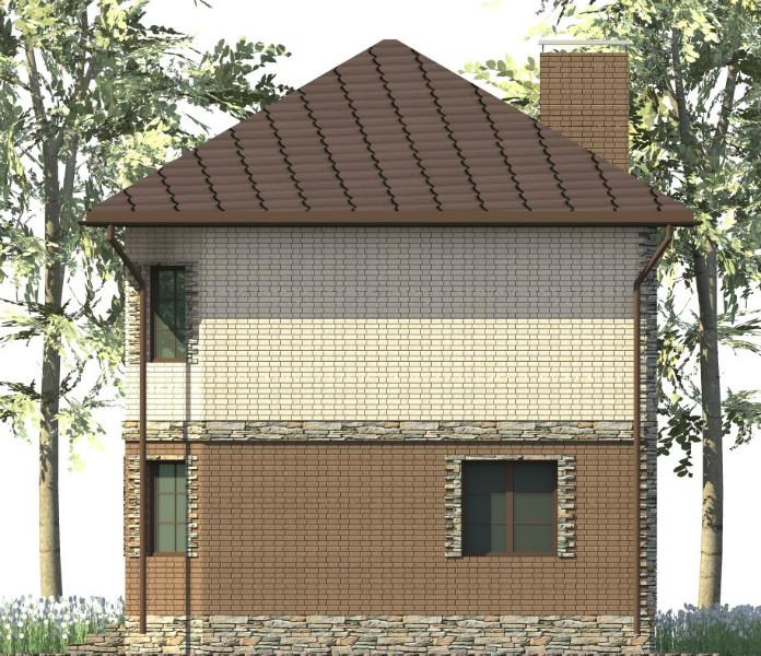 Алькасар A-101. Проект двухэтажного дома на 4 спальни