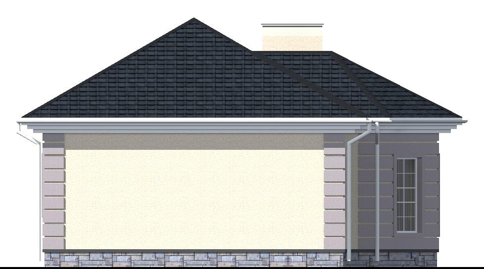 Абажур A-017 с видеообзором. Проект простого одноэтажного дома на 3 спальни
