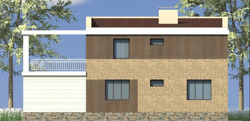 Астория F-013. Проект двухэтажного дома в современном стиле