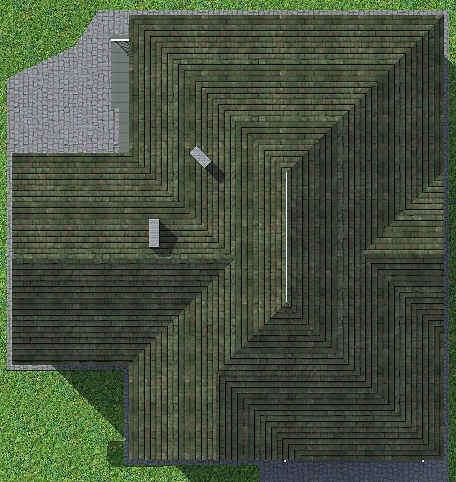 Черный принц C-259. Проект одноэтажного дома 16 х 16 м, на 2 спальни с верандой