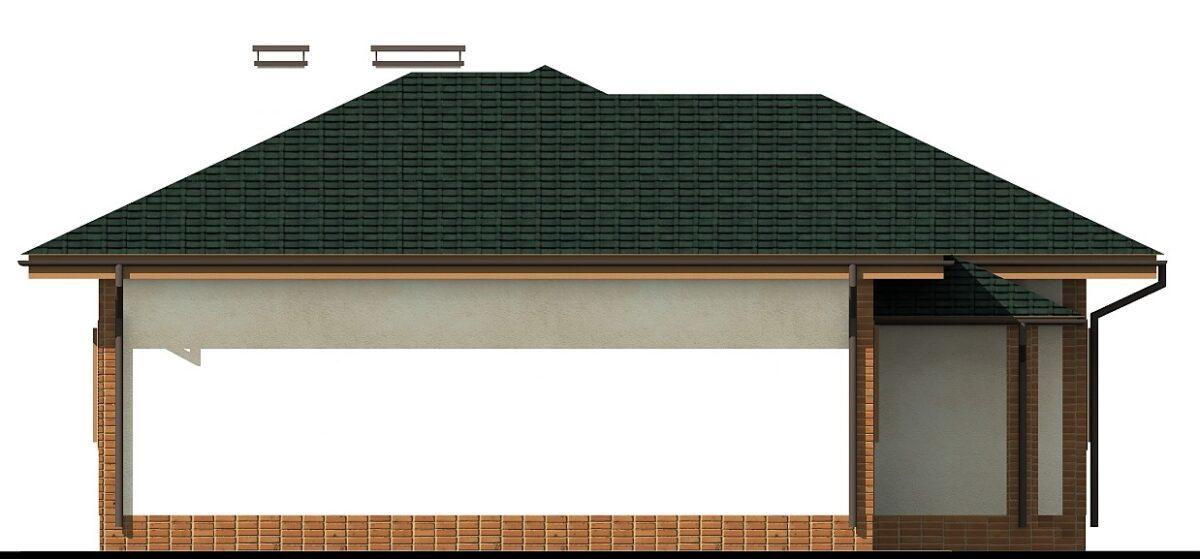 ФОКС B-043 с видеообзором. Проект одноэтажного дома на 4 спальни