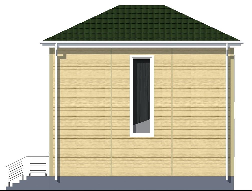 ГРАНТ A-091. Проект каркасного двухэтажного дома на 3 спальни