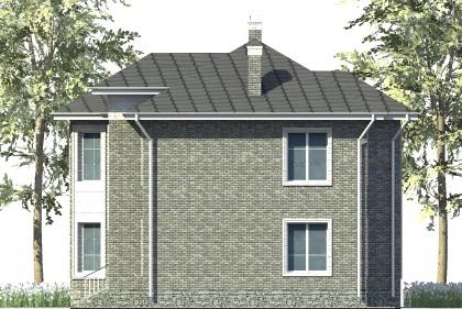 Гриф C-031. Проект двухэтажного дома на 5 спален, с улучшенной планировкой