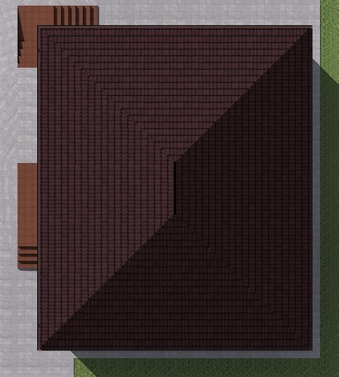 Красный Медведь B-280. Проект одноэтажного дома до 150 кв. м на 2 спальни с цоколем