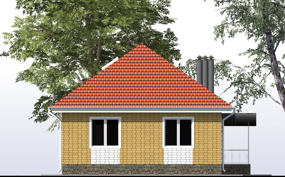 Лео B-275. Проект дома для большой семьи на 3 спальни, с мансардой, террасой