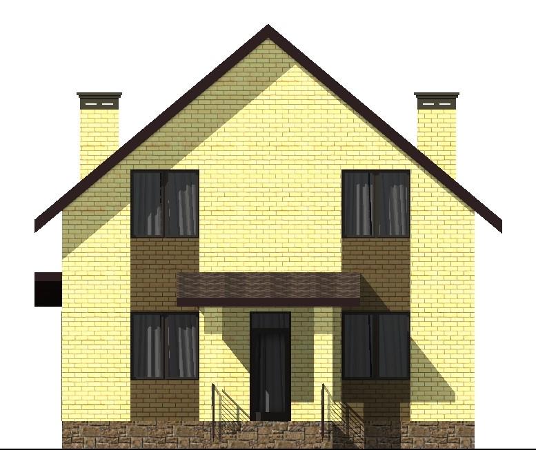 Мортимер C-039. Проект мансардного коттеджа на 6 спален