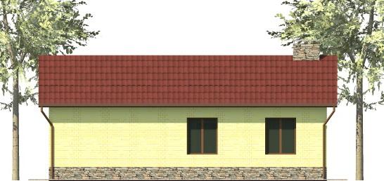 Норберт B-032. Проект простого дома на 3 спальни