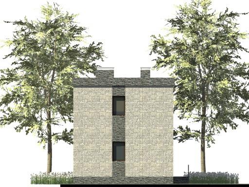 Ратник B-272. Проект современного дома на 2 спальни с плоской крышей