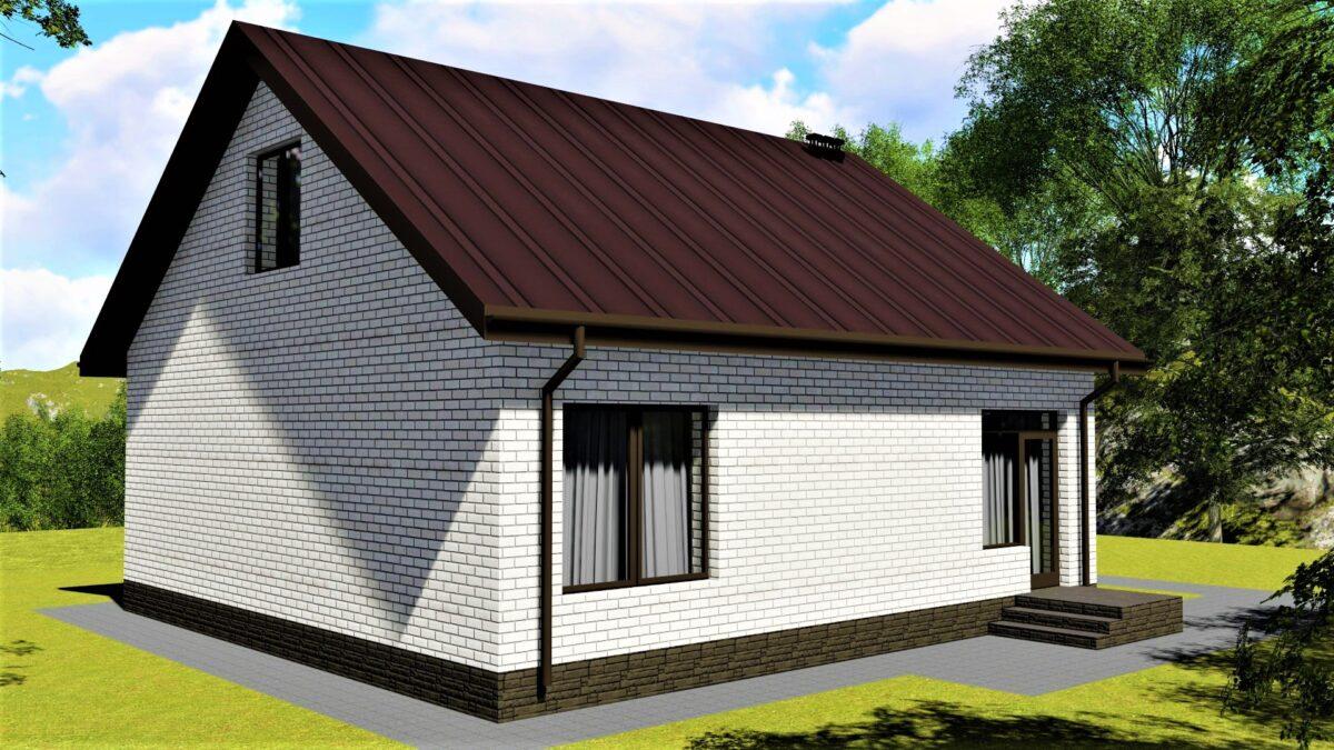 Торин А-094. Проект простого однокомнатного дома