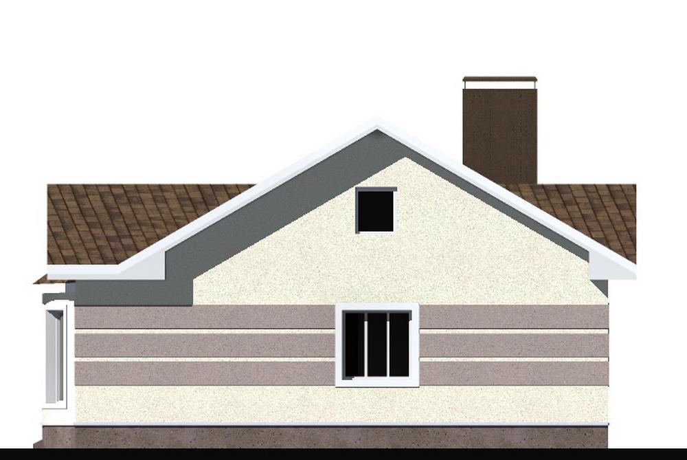 Асая B-250 с видеообзором. Проект простого одноэтажного дома на 2 спальни