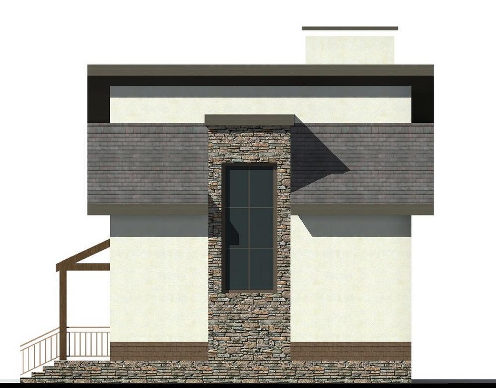 Дункан B-265. Проект дома с мансардой, двумя спальнями и террасой