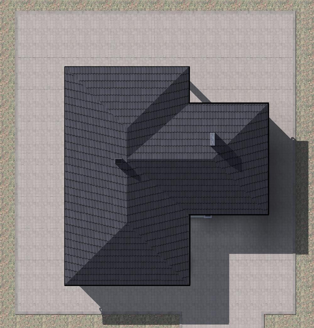 Эквадор C-220 с видеообзором. Проект одноэтажного коттеджа на 3 спальни, с пристроенным гаражом и террасой