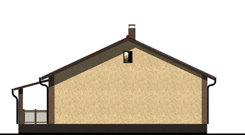 Файф B-198. Проект одноэтажного дома с тремя спальнями
