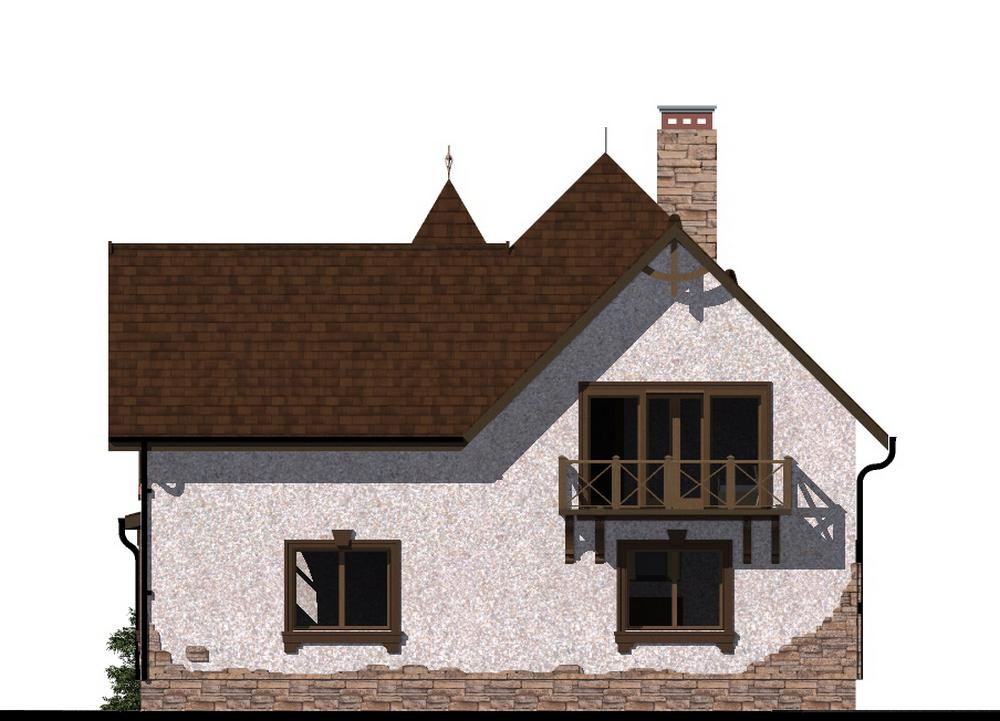 Йонас D-096 с видеообзором. Проект мансардного дома на 3 спальни, с террасой