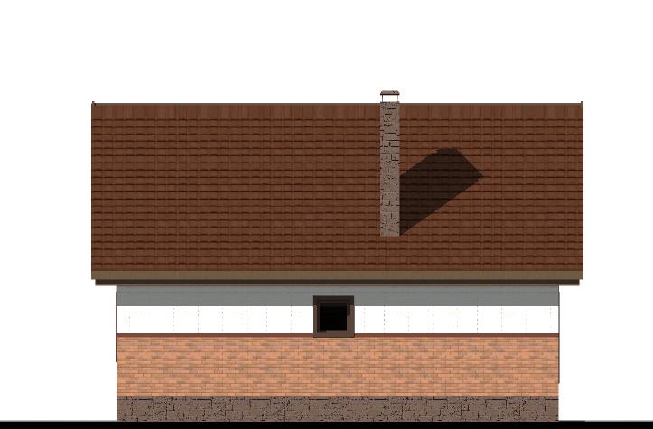 КАРАМ A-068. Проект простого одноэтажного дома на 2 спальни