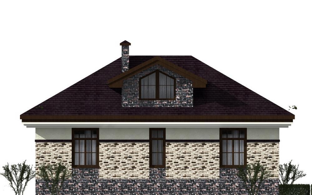 Кольбейн B-188 с видеообзором. Проект красивого мансардного дома с тремя спальнями