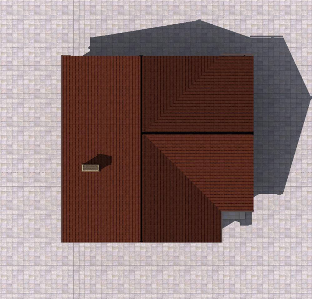 Рушник B-222. Проект одноэтажного дома на 2 спальни