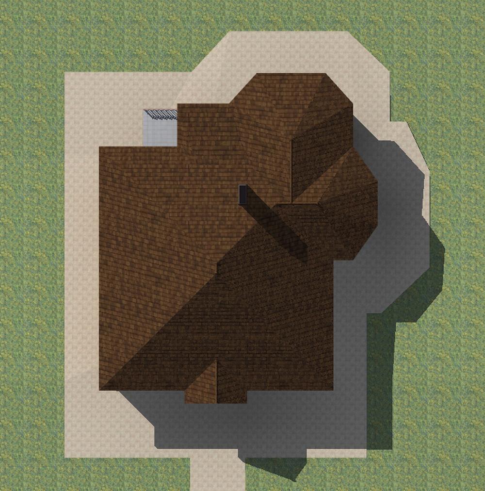 Сонет C-229. Проект одноэтажного дома на 2 спальни, с террасой