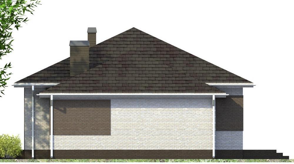 Стрим B-262 с видеообзором. Проект одноэтажного дома с двумя спальнями, террасой, баней и гаражом