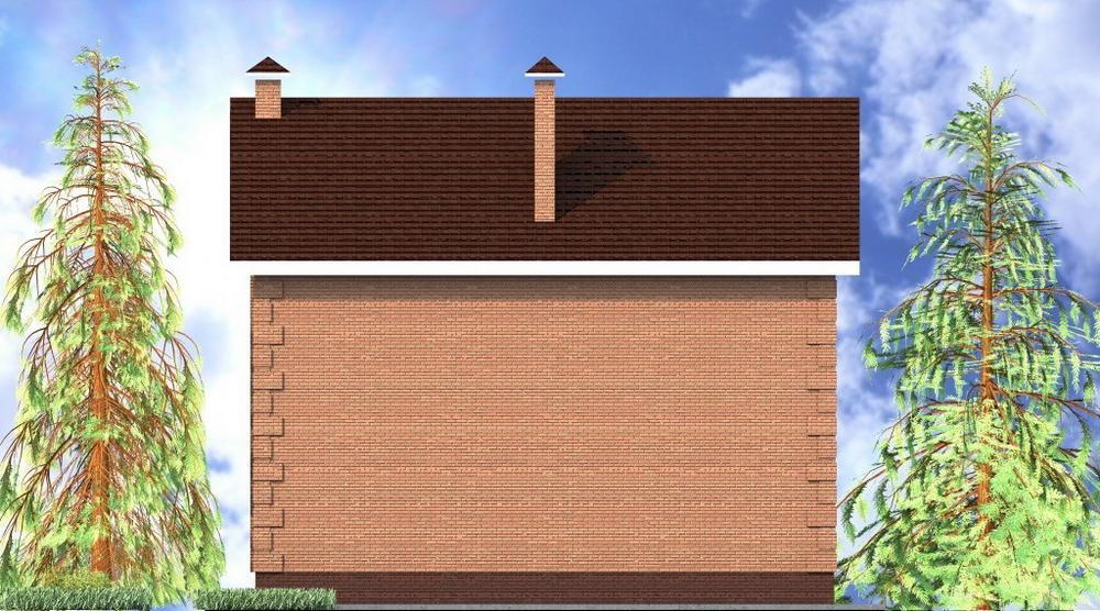 Таубер B-180. Проект двухэтажного дома с пятью спальнями